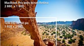 Vidéo Apple – Le Nouveau Macbook Pro avec écran Retina (2012) – ios 6