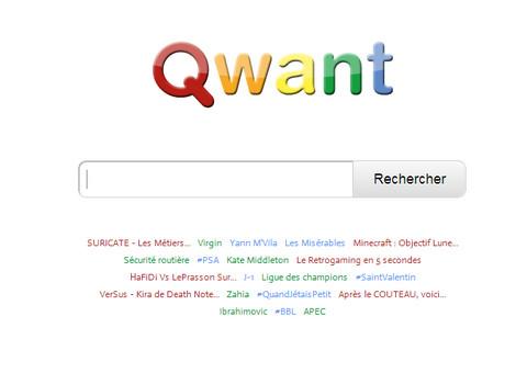 Qwant presse for Moteur de recherche reservation hotel