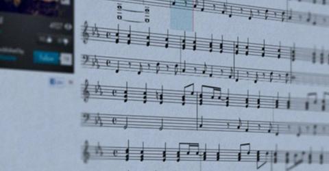Application pour apprendre la musique en ligne!
