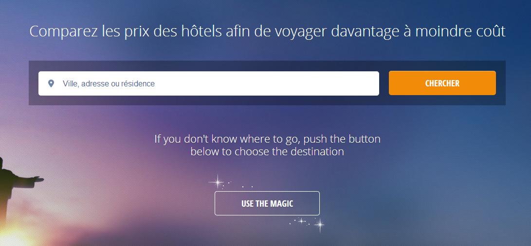 Un site de voyage canadien presse for Quel site pour trouver un hotel pas cher