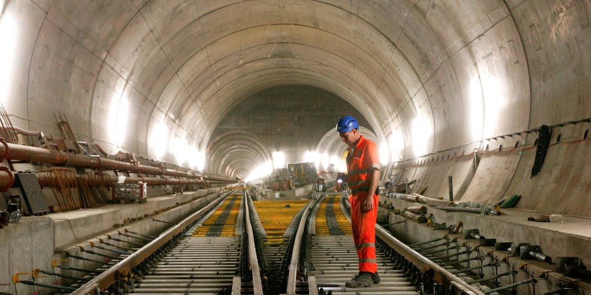 Le plus long tunnel du monde terminée!