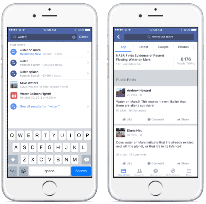 Vous pourrez dans les prochains jours chercher sur Facebook ce que le monde dit!