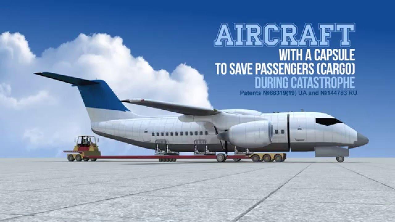Une cabine d'avion détachable, pas bête comme idée!