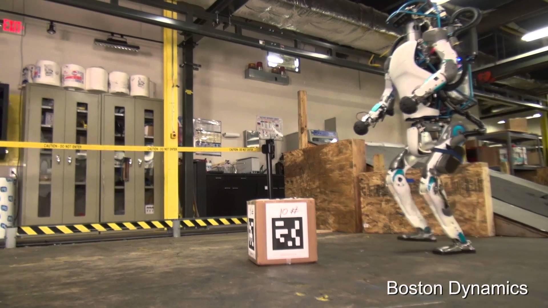 Remarquable ce qu'il fait ce robot, mais imaginer qu'il décide de vous poursuivre!