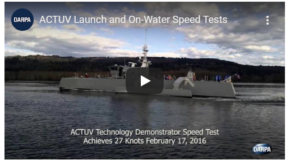 ACTUV La bateau drone de la US Navy