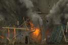 Explosion d'un bâtiment en 2500 images par seconde! Slow Motion!