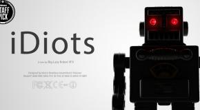iDiots, des petits robots qui communiquent avec des iPhones!