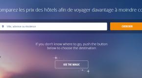 Nouveau moteur de recherches efficace pour trouver un hôtel pas cher sur le globe!