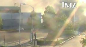Vidéo de surveillance qui capte l'accident de Paul Walker