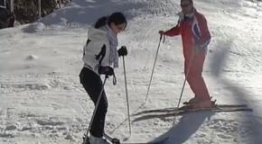 Vidéo pour apprendre à skier! Sept leçons de ski alpin en ligne gratuites!