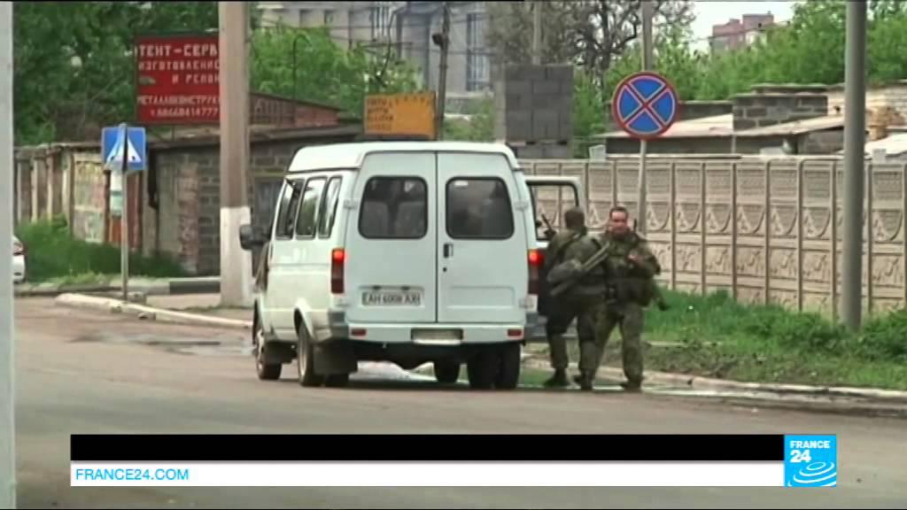 Ukraine : combats à l'arme lourde dans l'est près de Slaviansk