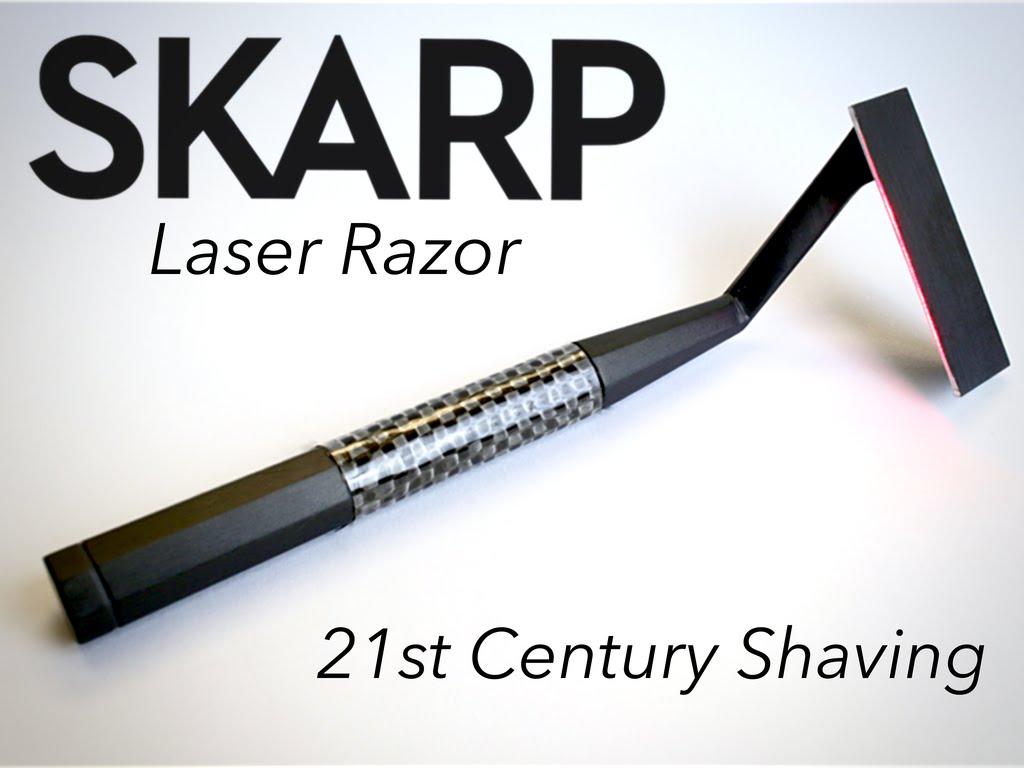 Un rasoir au laser, SKARP!