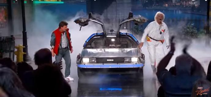 Marty McFly & Doc Brown Retour vers le futur 2015!