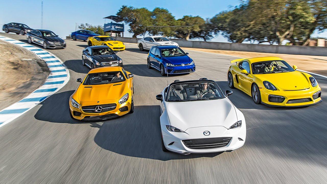 Course sur un quart de mille avec les voitures les plus rapides au monde en 2015!