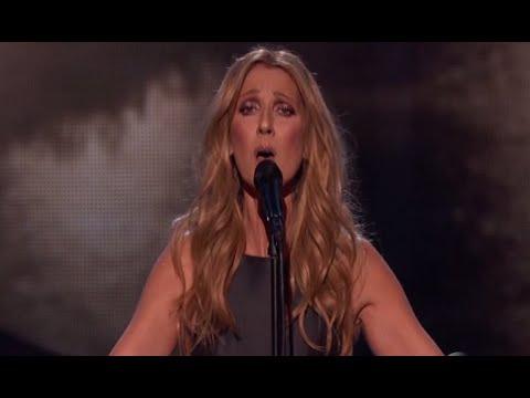 Celine Dion rend hommage aux Français, American music Award 2015!