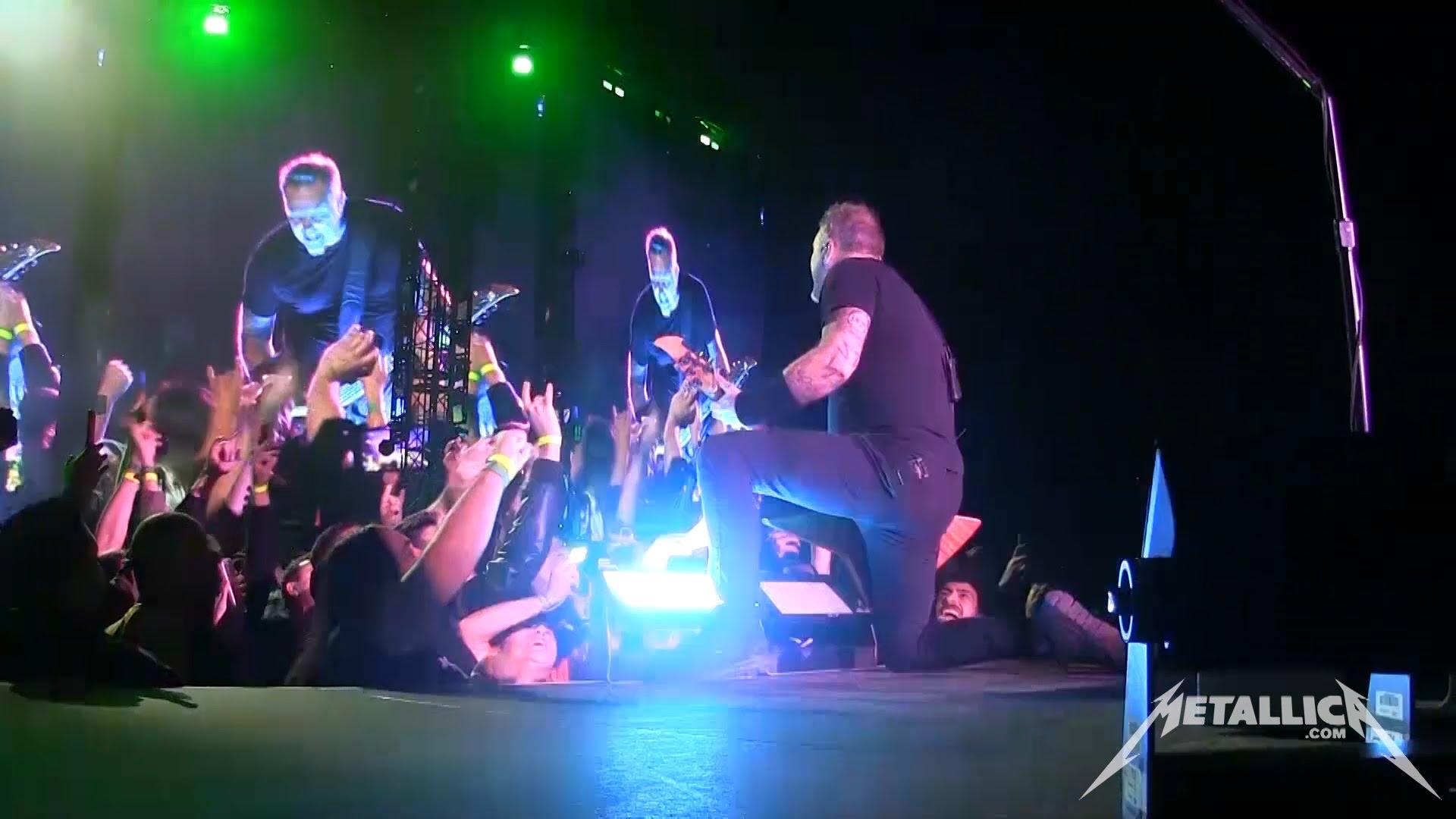 Metallica, test de son et photos!