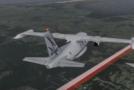 L'annonce de Pierre Bruneau  de l'écrasement d'avion au Québec, 7 victimes!