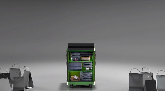 FUGU – Une valise de voyage qui s'adapte à la quantité de vêtements et plus!